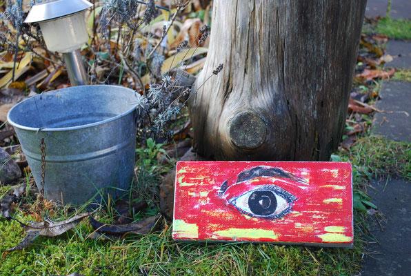 Auge rot - Serie: Der besondere Ziegelstein