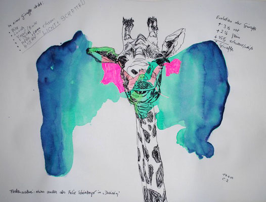 Evolution Giraffe