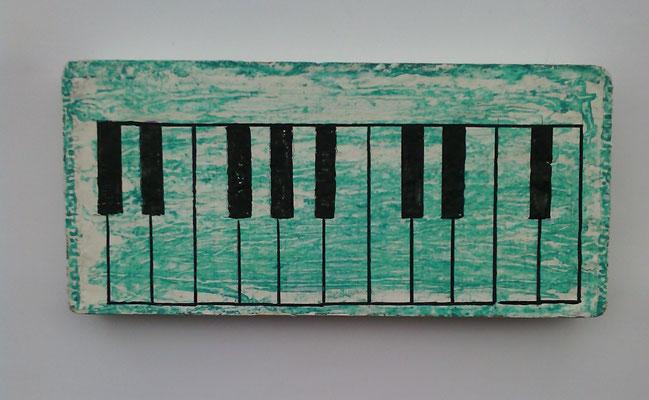 Serie: der besondere Ziegelstein - Klavier
