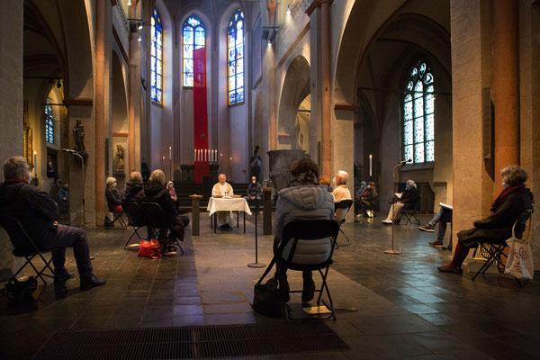 GRÜNDONNERSTAG  2021 (FOTO: ANNA C. WAGNER - LYSKIRCHEN)