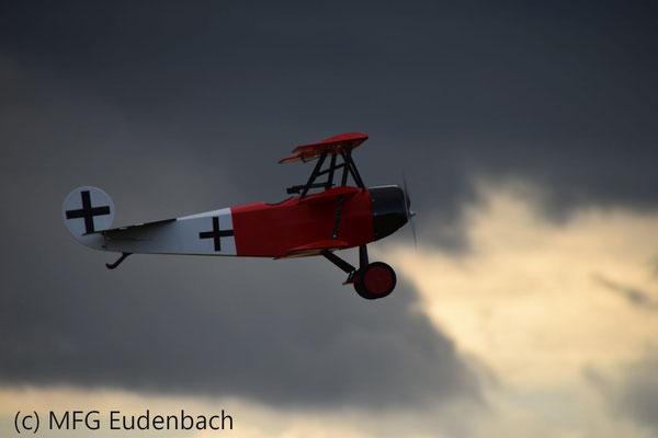 Fokker - flog super und dazu richtig gut gelandet.