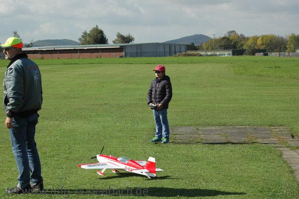 Der Jüngste Pilot mit neun Jahren