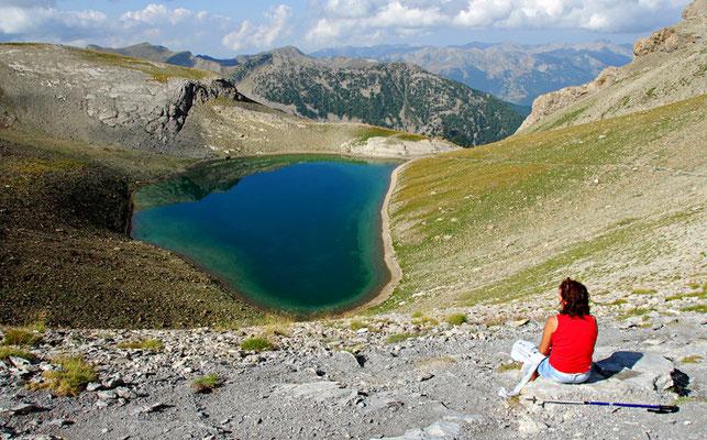 Lac de la Cayolle - Mercantour © Nicolas GIRAUD