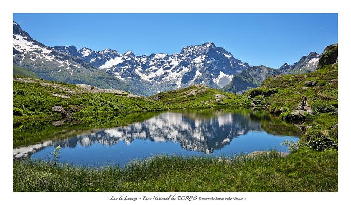 Lac Lauzon - Parc des Ecrins © Nicolas GIRAUD