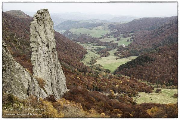 Dent de la Rancune - P.N.R. des Monts Auvergne © Nicolas GIRAUD