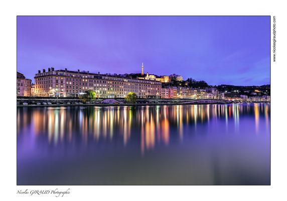 Lyon - Quai de saône © Nicolas GIRAUD