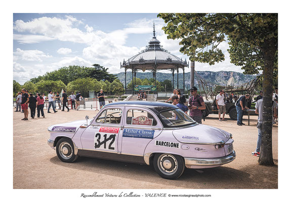 Rassemblement vieilles voitures - Valence - Drôme © Nicolas GIRAUD