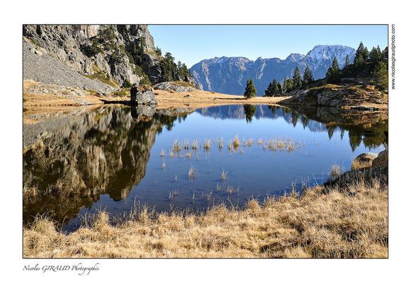 Lac inferenet - Belledonne © Nicolas GIRAUD