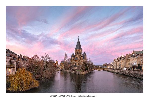 Metz - Temple neuf © Nicolas GIRAUD