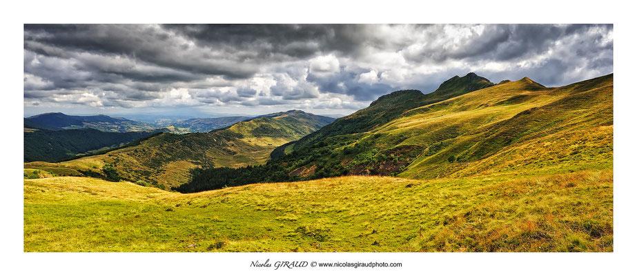GR400 - Impradine - Monts du Cantal © Nicolas GIRAUD