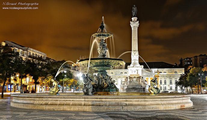 Place de Rossio - Lisbonne © Nicolas GIRAUD