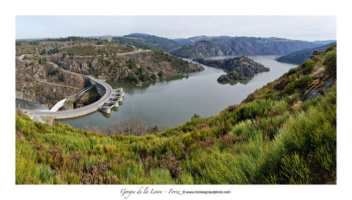 Barrage de Grangent - Gorges de la Loire © Nicolas GIRAUD
