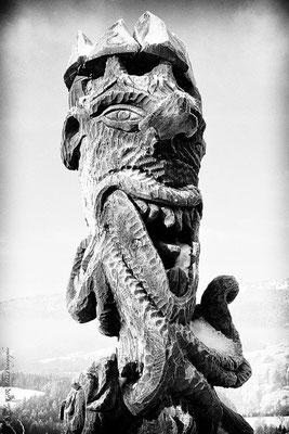 Totem Vercors © Nicolas GIRAUD