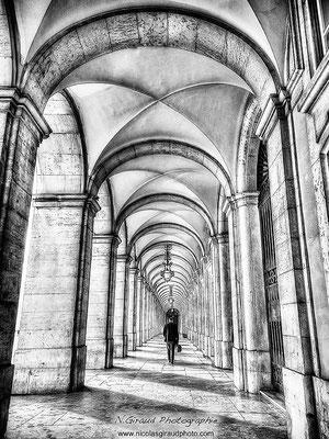 Praça Commercio - Lisbonne © Nicolas GIRAUD