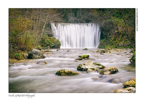 Cascade Blanche - P.N.R. du Vercors © Nicolas GIRAUD