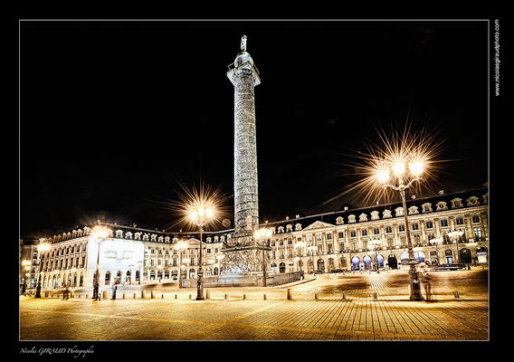 Place Vendôme - Paris © Nicolas GIRAUD