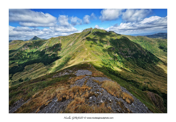 Puy Bataillouse - Monts du Cantal © Nicolas GIRAUD