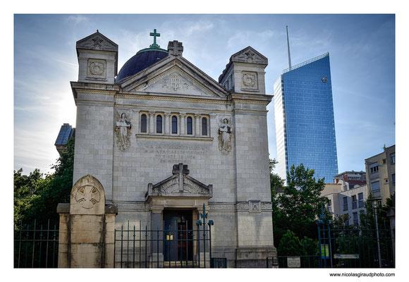 Chapelle St Croix + Incity - Lyon © Nicolas GIRAUD