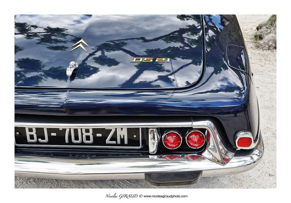 DS21 - Citroën © Nicolas GIRAUD