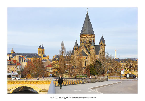 Temple neuf - Metz © Nicolas GIRAUD