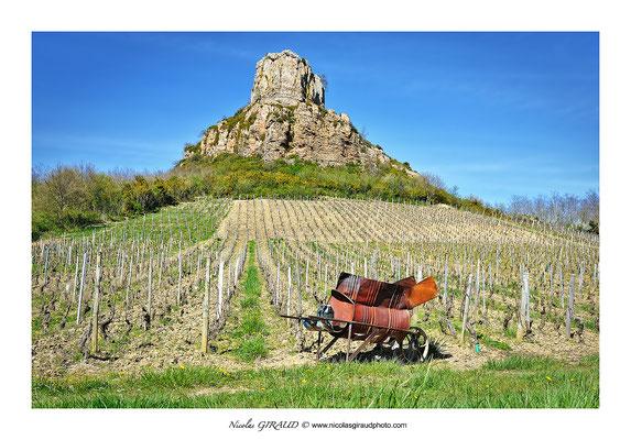 Roche de Solutré - Saône et Loire © Nicolas GIRAUD