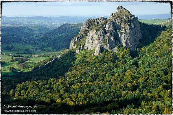 Roche Sanadoire - P.N.R. des Monts Auvergne © Nicolas GIRAUD