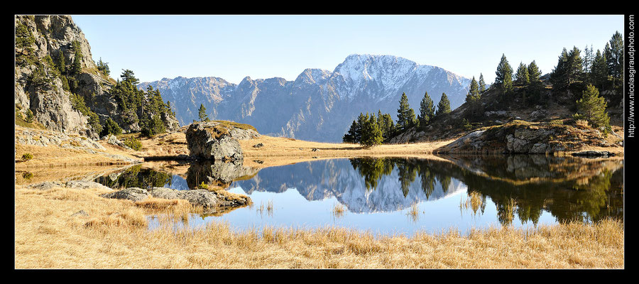 Lac Infernet - Belledonne © Nicolas GIRAUD
