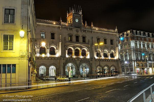 Gare de Rossio - Lisbonne © Nicolas GIRAUD