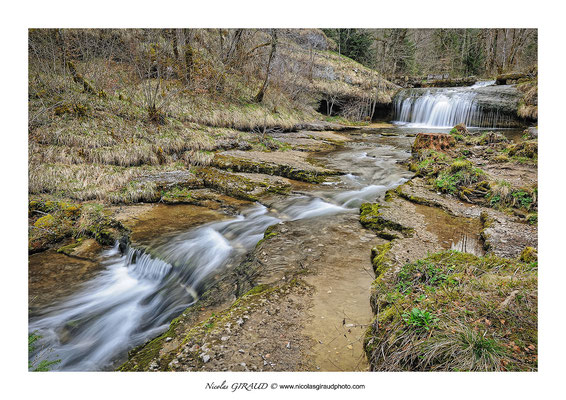 Cascades du Hérisson - Jura © Nicolas GIRAUD