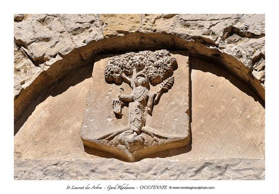 St Laurent des Arbres - Gard Rhodanien - Occitanie © Nicolas GIRAUD