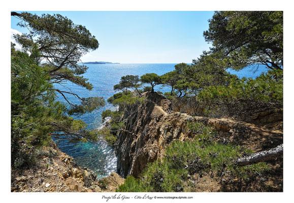 Sentier du litorral - Presqu'île de Giens - Côte d'Azur © Nicolas GIRAUD
