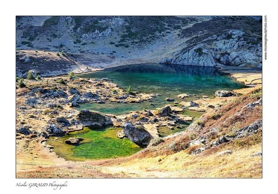 Lac de l'Agneau - Taillefer © Nicolas GIRAUD