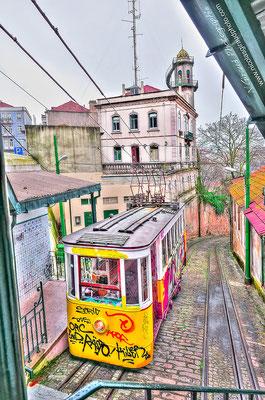 Ascensor da Lavra - Lisbonne © Nicolas GIRAUD