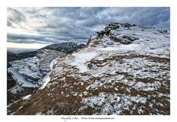 Massif des 3 Becs - Drôme © Nicolas GIRAUD