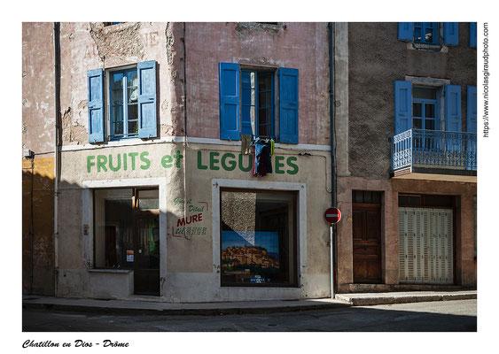 Chatillon en Diois - Drôme © Nicolas GIRAUD