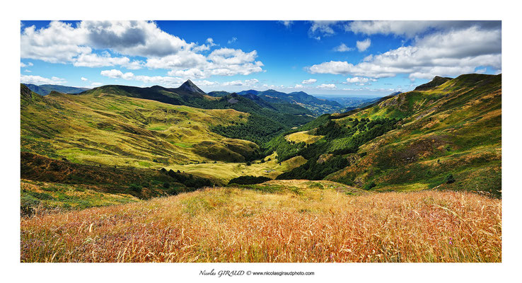 Vallée des Mandailles - Monts du Cantal © Nicolas GIRAUD