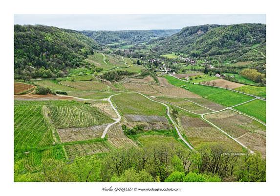 Vallée et vignoble de la Seille - Jura © Nicolas GIRAUD