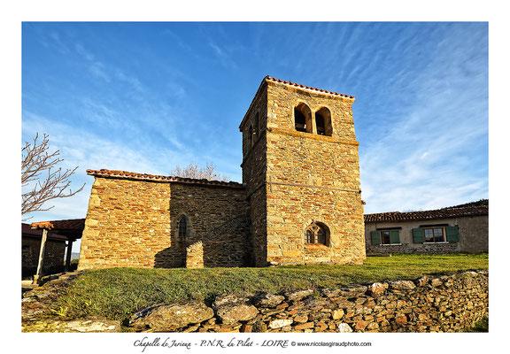 Chapelle de Jurieux - Parc du Pilat © Nicolas GIRAUD