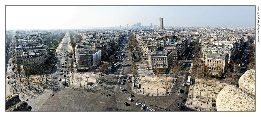 Paris Grande Armée - Défense © Nicolas GIRAUD
