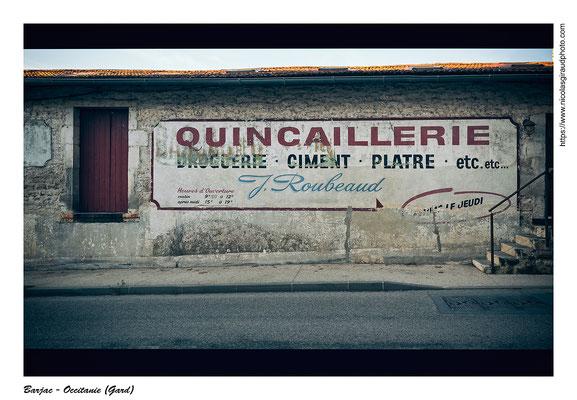 Barjac - Gard © Nicolas GIRAUD