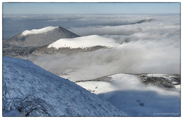 Chaine des Puys - P.N.R. des Volcans d'Auvergne © Nicolas GIRAUD