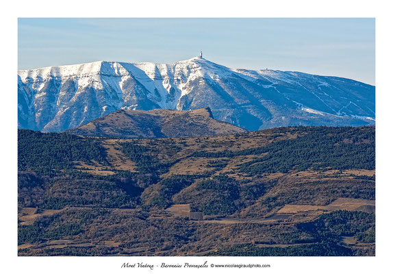 Mont Vnetoux - Baronnies Provençales © Nicolas GIRAUD