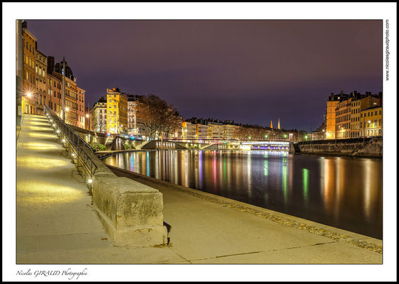 Lyon Quai de Saône © Nicolas GIRAUD