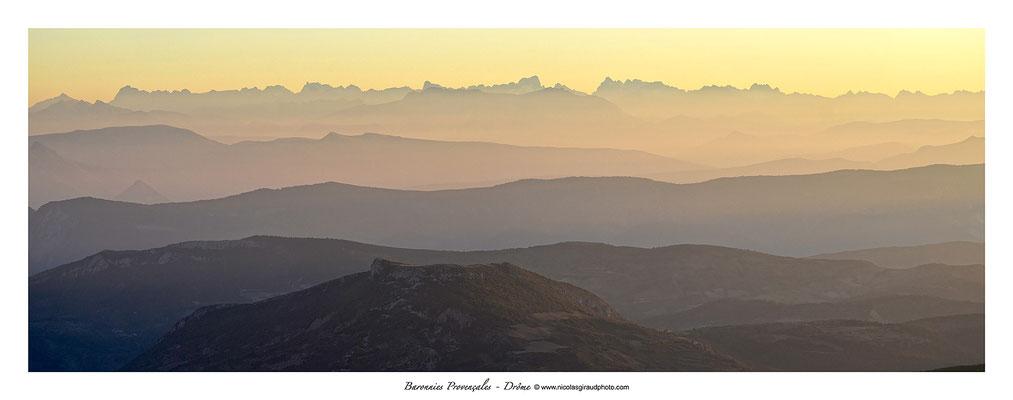 Lever Baronnies Provençales © Nicolas GIRAUD