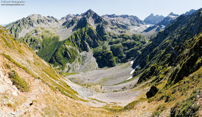 Col de la Grande Sitre - Belledonne  © Nicolas GIRAUD