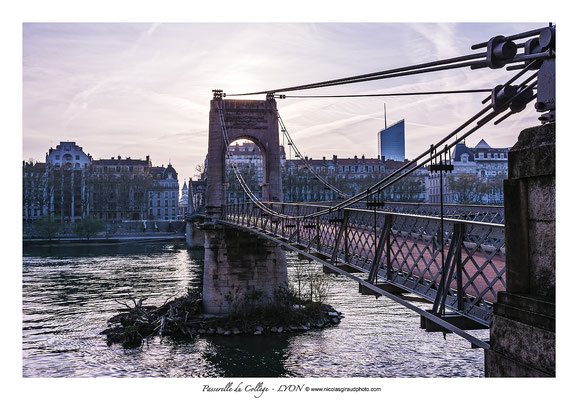Passerelle Lyon © Nicolas GIRAUD