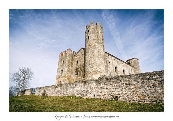 Chateau d'Essalois - Gorges de la Loire © Nicolas GIRAUD