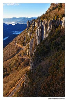 Rochers de Chironne - P.N.R. du Vercors