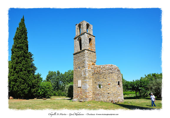 Chapelle St Martin - Gard Rhodanien © Nicolas GIRAUD