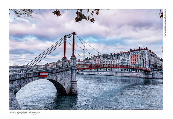 Passerelle St Georges © Nicolas GIRAUD